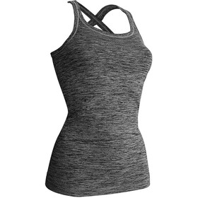 Kidneykaren Swing Tri Top Singlet Dames, anthra melange